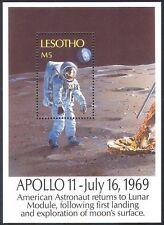 Lesotho 1989 Space/Astronaut/Moon Lander 1v m/s (b1278)