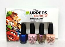 OPI Nail Lacquer- MUPPETS MOST WANTED Mini Collection 4pcs x 1/8oz