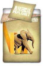 ANIMAL PLANET ELEPHANT LINGE DE LIT PARURE HOUSSE DE COUETTE 160x200+ TAIE 70x80