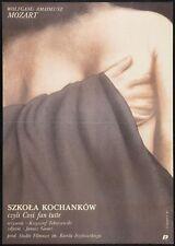 SCHOOL OF LOVERS Polish B1 Original Movie Poster Szkola kochanków Cosi fan tutee