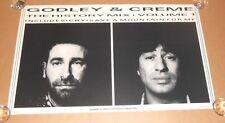 Godley & Creme The History Mix Volume 1 Promo 1985 Poster Thompson Twins 22x36