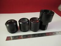 FOR PARTS LENSES FOR OCULAR EYEPIECE OPTICS MICROSCOPE PART AS PICTURED &66-A-98