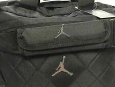New Nike Jordan Jumpman Duffle Gym Bag Carry Luggage 9A1273-023 Diamond Stitch