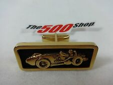 1961 A.J. Foyt Bowes Seal Fast Cufflink First Win Indianapolis 500