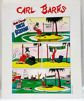"""1990s Carl Barks/Uncle Scrooge One-Page Comic Art Prints 13""""x16""""-Your Choice 10+"""
