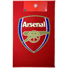 Arsenal Fc Club Crest Rug Bedroom Carpet Mat Floor New Gift Xmas 80 X 50 cm