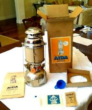 Vintage Aida Express Model 1500 Lantern 500 Candle Power New In Box All Parts
