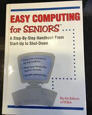 New Book - EASY COMPUTING for Seniors - Free shipping!
