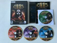 STAR WARS KNIGHTS OF THE OLD REPUBLIC II 2 PC DVD-ROM 4 DISC VERSION COMPLETE
