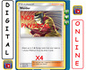 4x Welder 189/214 Unbroken Bonds Pokemon TCG Online Digital