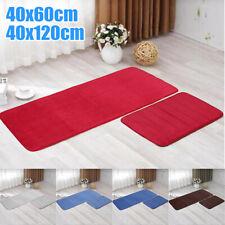 Memory Cotton Bath Rug Floor Carpet Mat Bathroom Non-slip Mat £