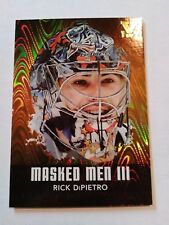 Rick DiPietro ITG Vault 1/1 on 2010-11 Between the Pipes Masked Men