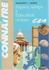 ESPACE TEMPS EDUCATION CIVIQUE CE1 HATIER + PARIS POSTER GUIDE