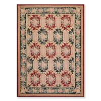 8' x 11' Hand Hooked 100% Wool Persian Oriental Area rug 8x11 Traditional