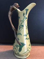 Bronzefigur Keramik Amphore Karaffe Meerjungfrau aus Bronze Antik - Stil