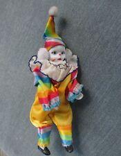 """vintage Wonderful / Happy Clown - PORCELAIN  - 7-1/2"""" Pagliaccio"""