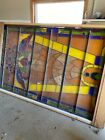 Lot of 2 amazing stained glass windows- local pick up only