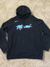 New listing $70 Miami Heat Nike Vice Nights City Edition Club Pullover Hoodie Black Mens XXL