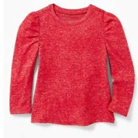 Old Navy Robbie Red Sweater Top Toddler Girls 4T NEW