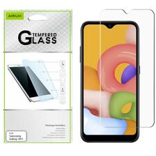 For Samsung Galaxy A01 Tempered Glass Screen Protector Premium Guard Curved