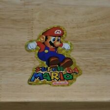 OFFICIAL Nintendo 64 Promotional Sticker - Super Mario 64 #1 - BRAND NEW!! (n64)