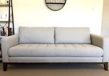 3 seater fabric lounge suite. Freedom brand.