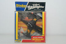 DINKY TOYS 362 TRIDENT STAR FIGHTER WITH STELLAR MINT BOXED RARE SELTEN RARO