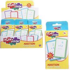 Nuevo Niños Educativo Tarjetas Flash Adición - 56 Tarjetas