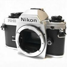 Nikon FG-20 35mm SLR Film Camera Silver Body Excellent from Japan Free Shipping