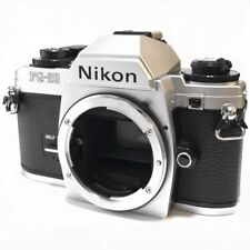 Nikon FG-20 35mm SLR Film Camera Silver Body Excellent from Japan