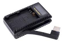 Nitecore UCN1 USB Dual Slot Battery Charger - Canon LP-E6 / LP-E6N / LP-E8