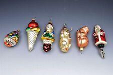 Vintage Glass Christmas Tree Ornaments Inge Glas Old World Christmas - 6