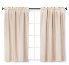 """(1) ONE Eclipse Black Out Khaki Thermal Curtain Window Panel 42"""" x 63"""""""