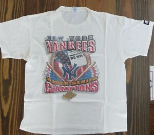 New York Yankees Authentic 1996 World Series Champions T-Shirt Adult X-Large NEW