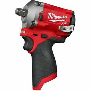 "Milwaukee 2555-20 M12 FUEL™ 1/2"" Stubby Impact Wrench"