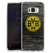 Samsung Galaxy S8 Silikon Hülle Case - BVB Holzoptik