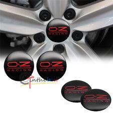 4PCS 56.5mm OZ O.Z Racing Aluminum Car Wheel Center Hub Cap Stickers Emblems