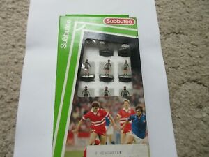 Subbuteo  L/W Newcastle Dunfermline PAOK  Reference 8  Boxed Team