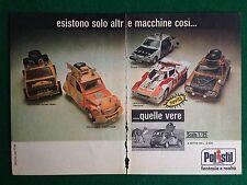 OC76 Pubblicità Advertising Clipping 19x13 cm (1976) LANCIA VOLVO POLISTIL