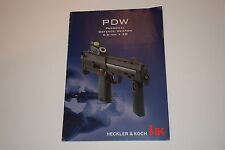 HECKLER & KOCH HK MP7 PDW CATALOG/MANUAL PERSONAL DEFENCE WEAPON 4.6MM RARE!!!!