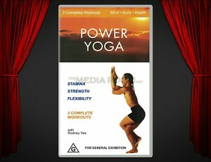 VHS | Power Yoga with Rodney Yee (2002) | Stamina / Strength / Flexibility