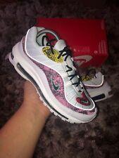 "Nike Air Max 98 ""Snakeskin"" UK 6.5 EU 40.5 Womens BV1978-100"