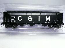 "Deluxe Innovations Chicago & Illinois Midland C&IM 3-Bay Coal Hopper #11023 ""N"""