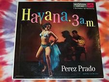 PEREZ PRADO Havana, 3 a. m. RCA VICTOR RECORDS 1956 VG Sexy Cheesecake Cover OOP