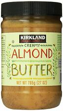 Kirkland Signature Creamy Almond Butter, 26 oz. Jar
