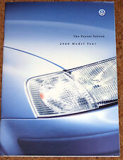 2000 Model Year VW PASSAT Sales Brochure - S, SE, Sport, V5, V6 TDI, V6 4MOTION