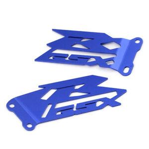 Footrest Heel Plates Guard For SUZUKI GSX-R 600/750 2006-2020/ GSXR 1000 03-16