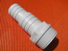 8 Stück Pool Schlauchkupplung Schlauchtülle 32/38mm Tülle Anschlussstück NEU