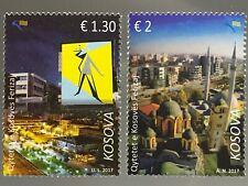 Kosovo 2017 Michel Nr. 370-71 Städte im Kosovo Tourismus Städtereisen