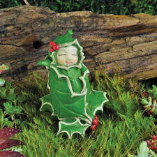 Fairy Garden Mini - Fairy Baby of the Month - December Holly